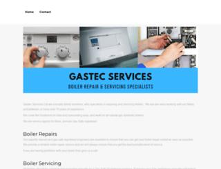 gastecservices.co.uk screenshot