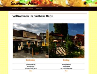 gasthaus-hansi.at screenshot