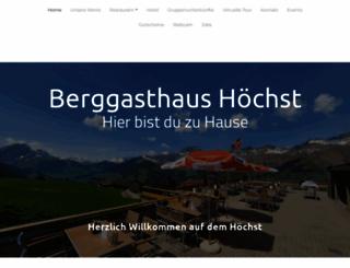 gasthaus-hoechst.ch screenshot