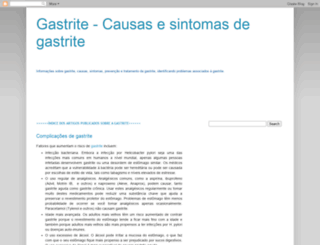 gastrite-curar.blogspot.com screenshot