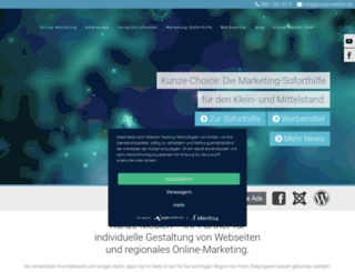 gastro.kunze-marketing.de screenshot
