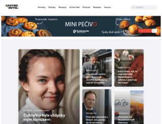gastroahotel.cz screenshot