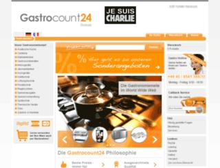 gastrocount24.ch screenshot