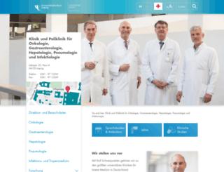 gastroenterologie.uniklinikum-leipzig.de screenshot
