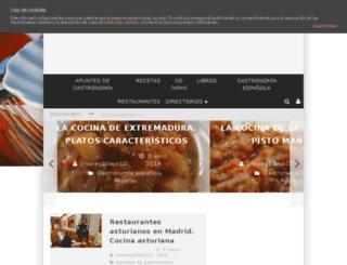 gastronomiaycocina.com screenshot