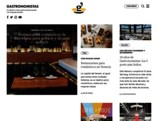 gastronomistas.com screenshot