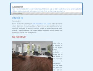 gastroprofit.cz screenshot
