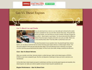 gasvsdieselengines.tripod.com screenshot