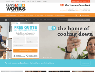 gasworks.net.au screenshot