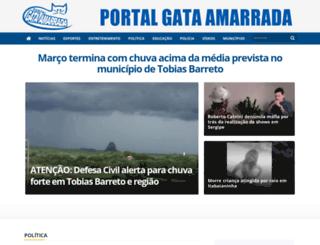 gataamarrada.com.br screenshot