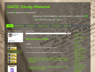 gate-study-material.blogspot.in screenshot