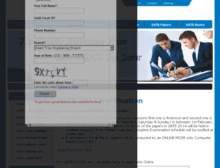 gate2014notification.com screenshot