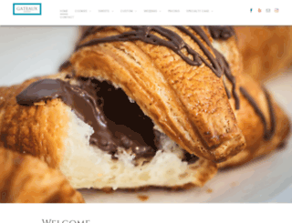 gateauxpastries.com screenshot