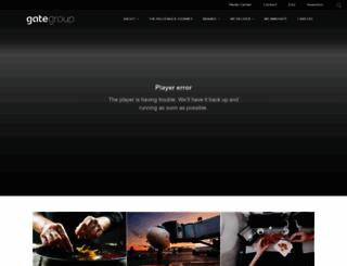 gategroup.com screenshot