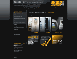 gatehousesecurity.co.nz screenshot
