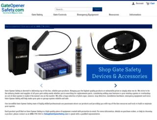 gateopenersafety.com screenshot