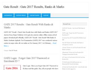 gateresultsnic.com screenshot