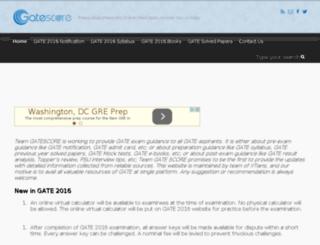 gatescore.in screenshot