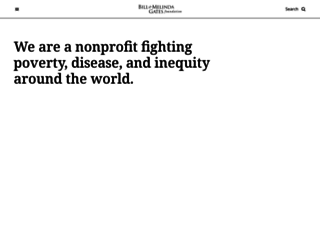 gatesfoundation.org screenshot