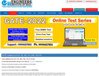gatesyllabus.engineersinstitute.com screenshot