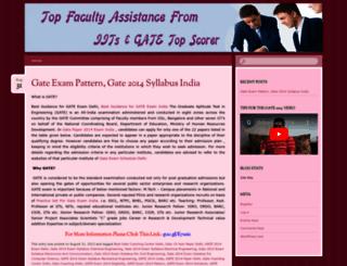 gatesyllabus2014delhiindia.wordpress.com screenshot