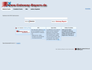 gateway-bayern.de screenshot
