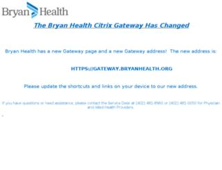 gateway.bryanlgh.org screenshot