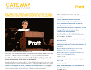 gateway.pratt.edu screenshot