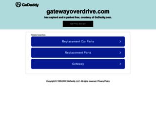 gatewayoverdrive.com screenshot