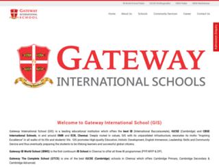 gatewayschools.in screenshot