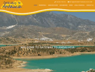 gatewaytoandalucia.com screenshot