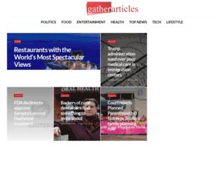 gatherarticles.com screenshot
