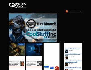 gatheringmagic.com screenshot