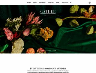 gatherjournal.com screenshot