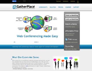 gatherplace.com screenshot