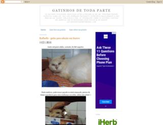 gatinhosdetodaparte.blogspot.com screenshot
