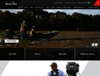 gator-tail.com screenshot