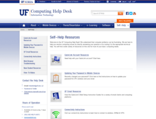 gatorlink.ufl.edu screenshot