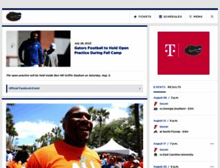 gatorzone.com screenshot