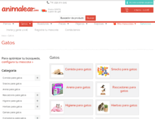 gatos.mascotic.es screenshot