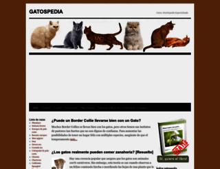gatospedia.com screenshot