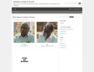gattag.wordpress.com screenshot