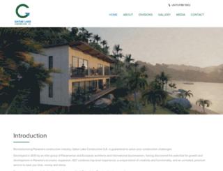 gatunlakeconstruction.com screenshot