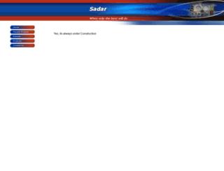 gatway.sadar.com screenshot