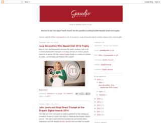 gaudio-awards.blogspot.com screenshot