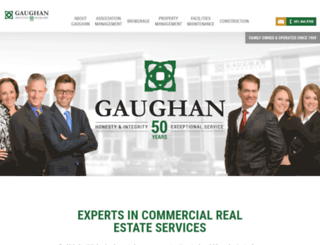 gaughancompanies.com screenshot