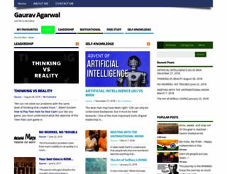 gauravagarwal.in screenshot