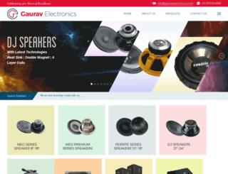 gauravelectronics.com screenshot