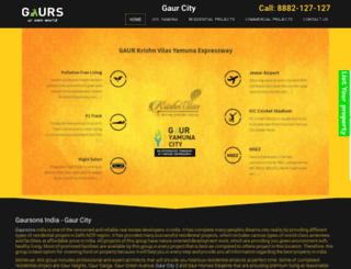 gaurcity2.com screenshot