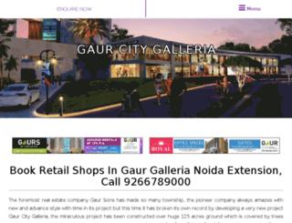 gaurgalleria.in screenshot